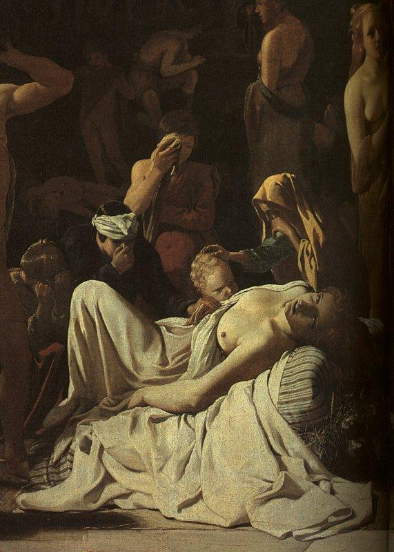 Michael Sweerts The Plague in an Ancient City Germany oil painting art