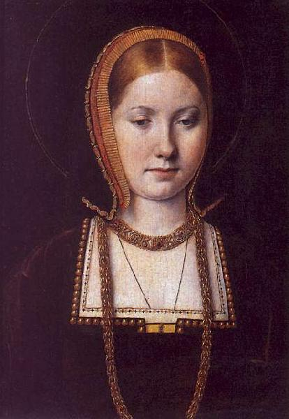 Michiel Sittow Katherine of Aragon Germany oil painting art