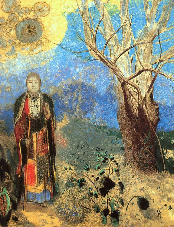 Odilon Redon The Buddha Germany oil painting art