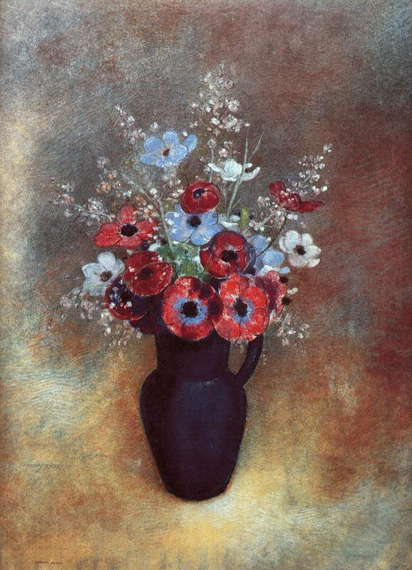 Odilon Redon Amemones Germany oil painting art
