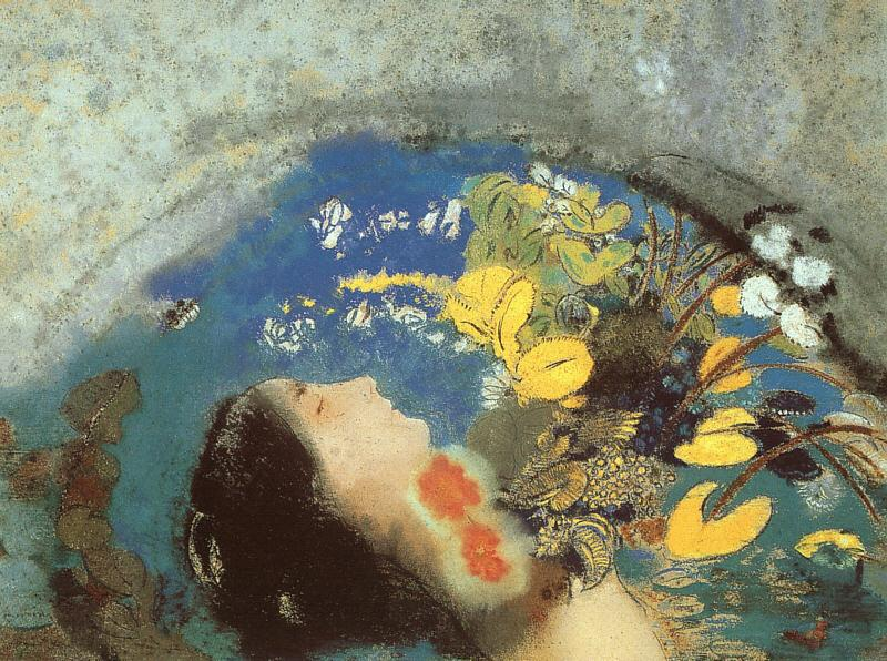 Odilon Redon Ophelia Germany oil painting art