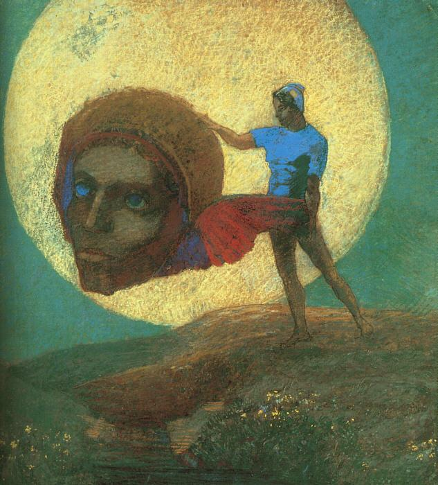 Odilon Redon The Fall of Icarus Germany oil painting art
