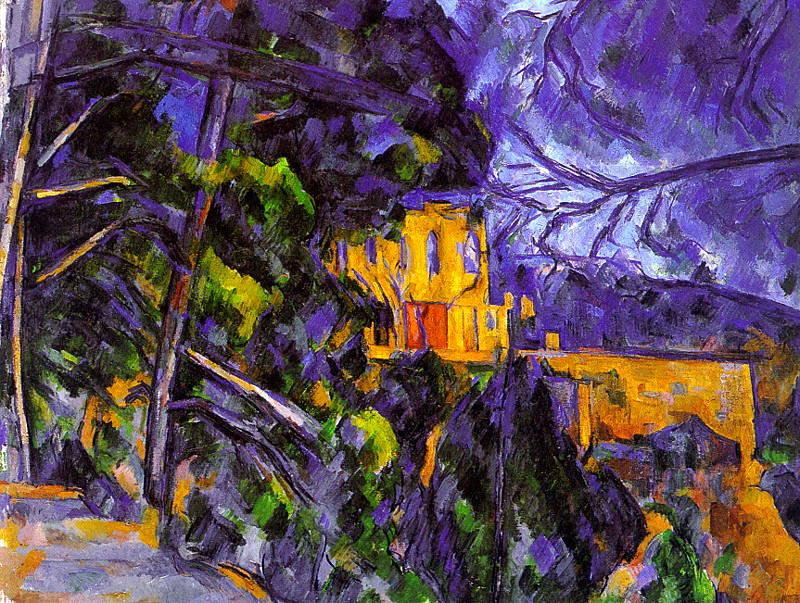 Paul Cezanne Le Chateau Noir oil painting image