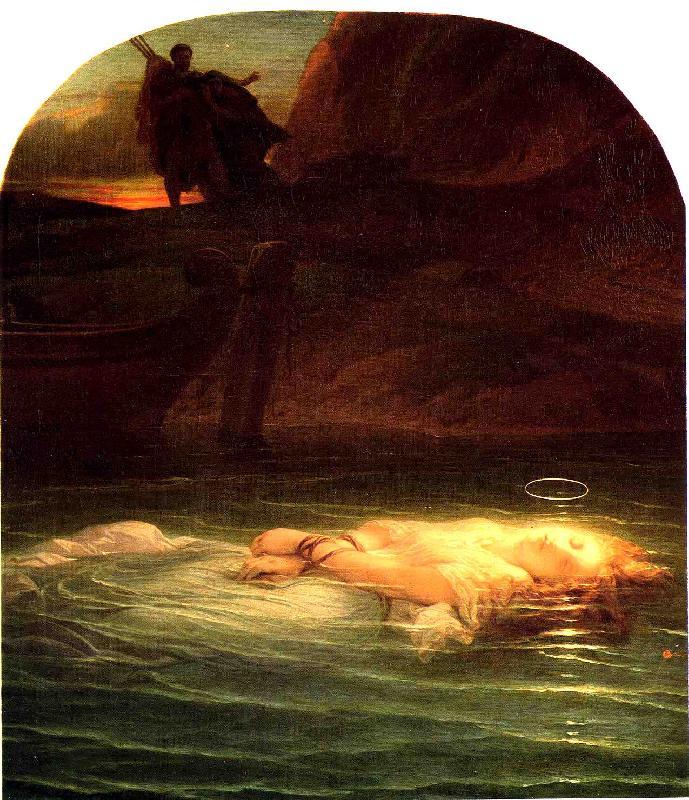 Paul Delaroche Young Christian Martyr Germany oil painting art