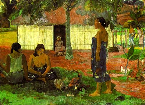 Paul Gauguin Why Are You Angry oil painting image