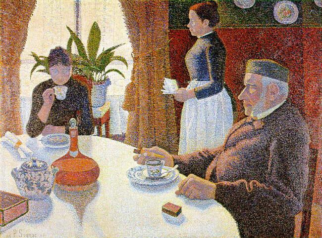 Paul Signac The Dining Room Germany oil painting art