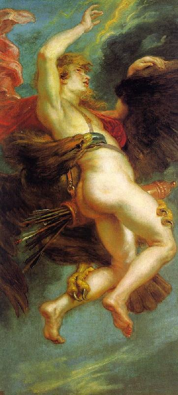 Peter Paul Rubens The Abduction of Ganymede Germany oil painting art