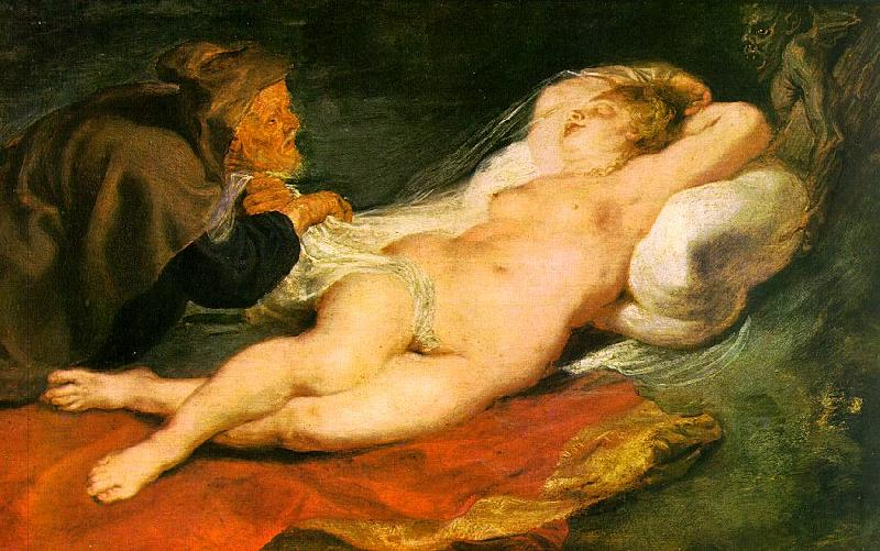 Peter Paul Rubens Angelica and the Hermit Germany oil painting art