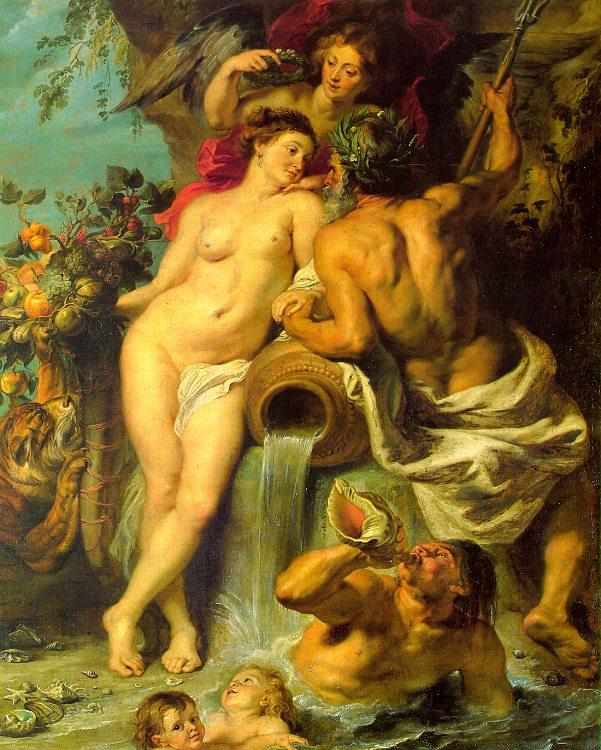 Peter Paul Rubens The Union of Earth and Water oil painting image