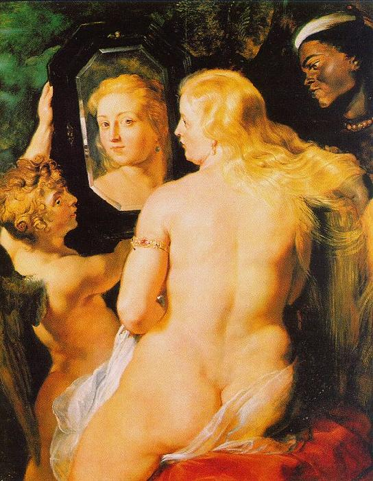 Peter Paul Rubens Venus at a Mirror Germany oil painting art