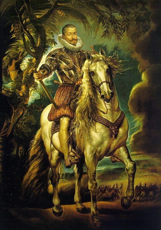 Peter Paul Rubens Equestrian Portrait of the Duke of Lerma Germany oil painting art