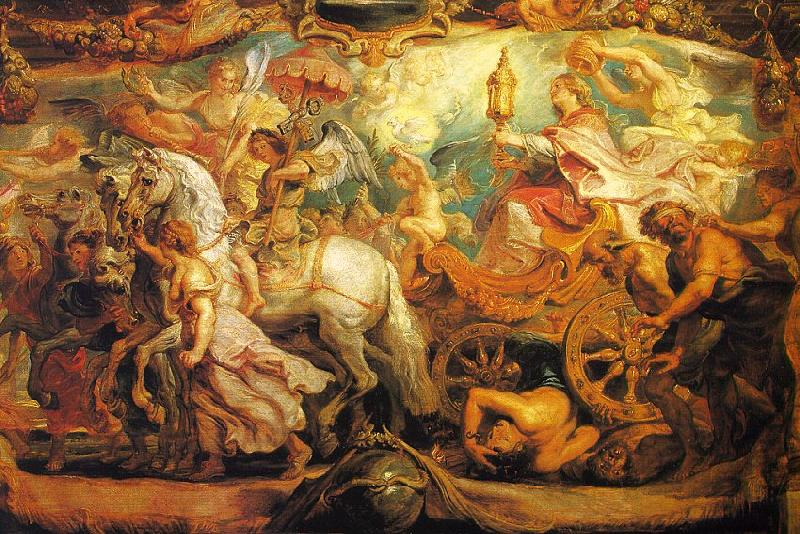 Peter Paul Rubens The Triumph of the Church Germany oil painting art