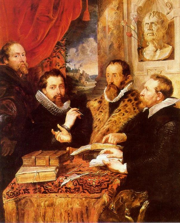 Peter Paul Rubens The Four Philosophers Germany oil painting art