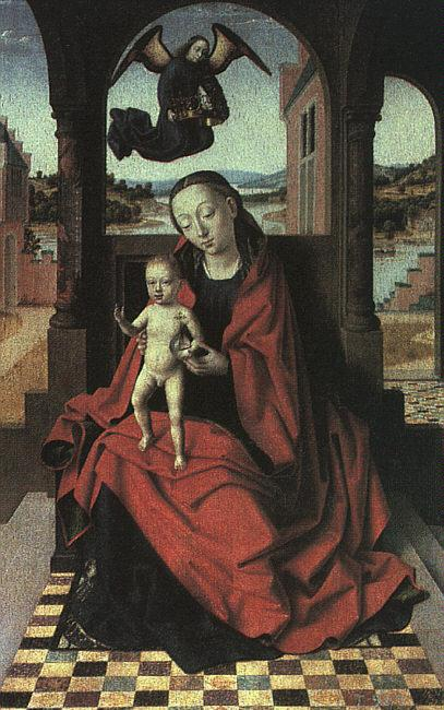 Petrus Christus The Virgin and the Child oil painting image