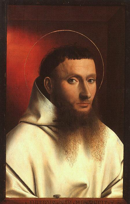 Petrus Christus Portrait of a Carthusian oil painting image