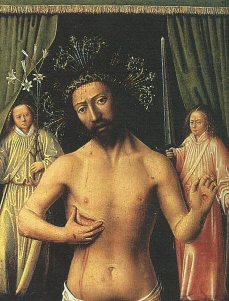Petrus Christus The Man of Sorrows oil painting image