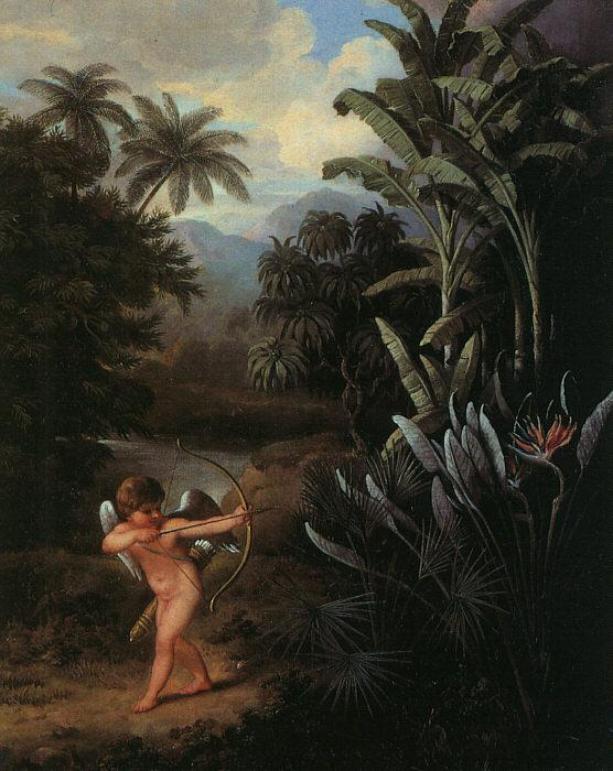 Philip Reinagle Cupid Inspiring the Plants with Love Germany oil painting art