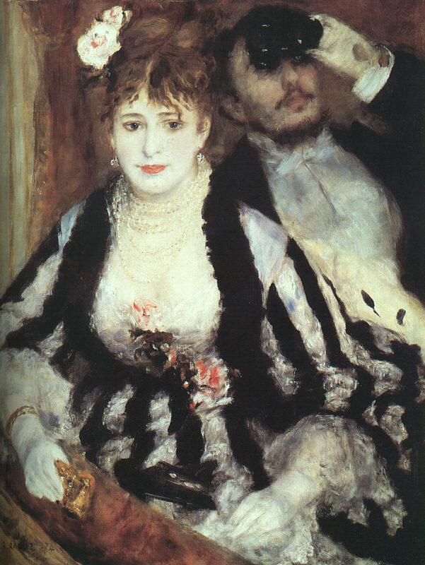 Pierre Renoir The Box at the Opera Germany oil painting art
