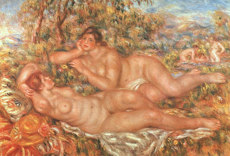 Pierre Renoir The Great Bathers Germany oil painting art
