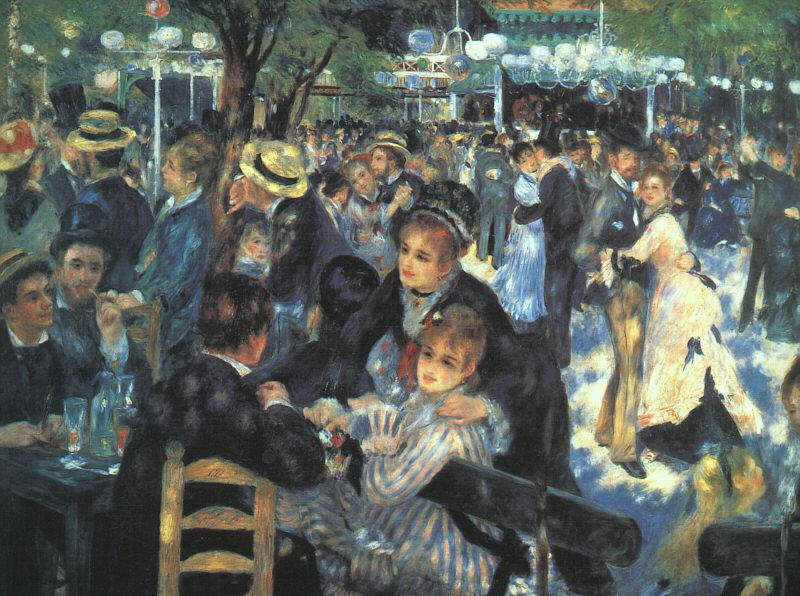 Pierre Renoir The Ball at the Moulin  de la Galette Germany oil painting art
