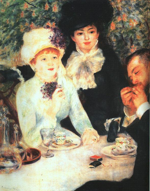 Pierre Renoir The End of the Luncheon Germany oil painting art