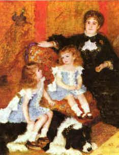 Pierre Renoir Madam Charpentier Children Germany oil painting art