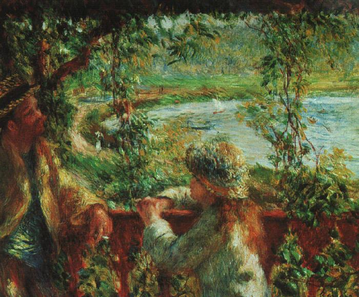 Pierre Renoir Near the Lake Germany oil painting art