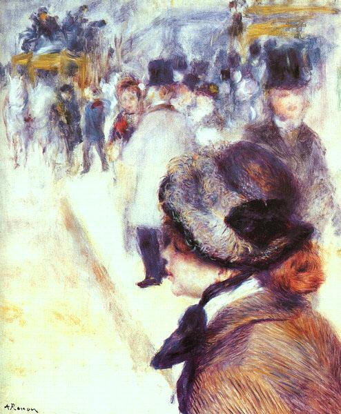 Pierre Renoir Place Clichy Germany oil painting art