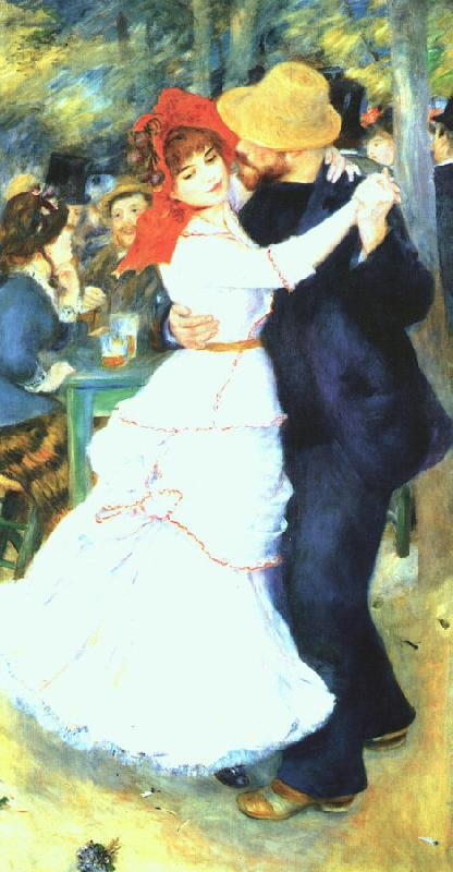 Pierre Renoir Dancing at La Bougival Germany oil painting art