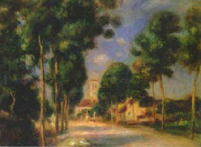 Pierre Renoir The Road To Essoyes Germany oil painting art