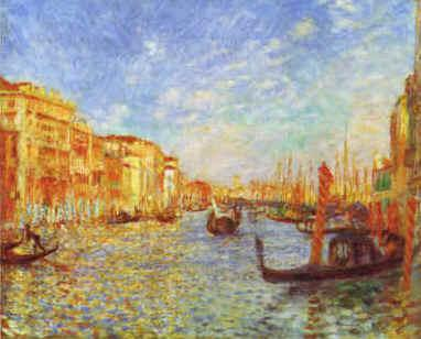 Pierre Renoir Grand Canal, Venice Germany oil painting art