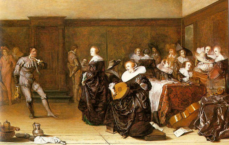 Pieter Codde Dancing Party oil painting image