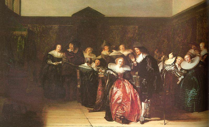 Pieter Codde Merry Company 2 oil painting image
