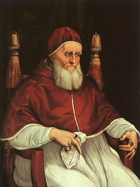 Raphael Portrait of Julius II Germany oil painting art