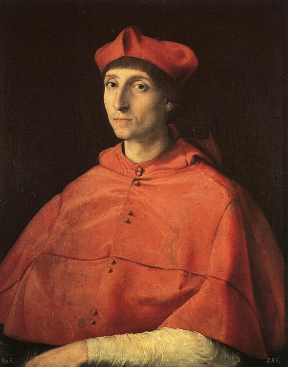 Raphael Portrait of a Cardinal Germany oil painting art