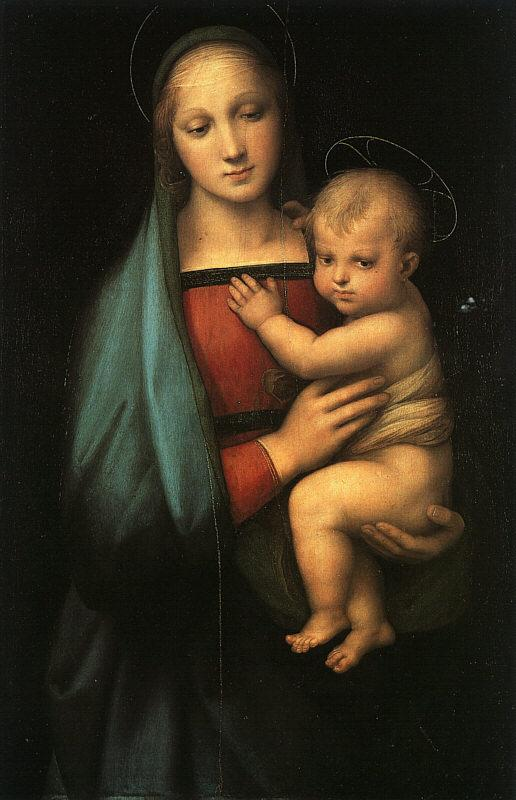 Raphael Madonna Child ff Germany oil painting art