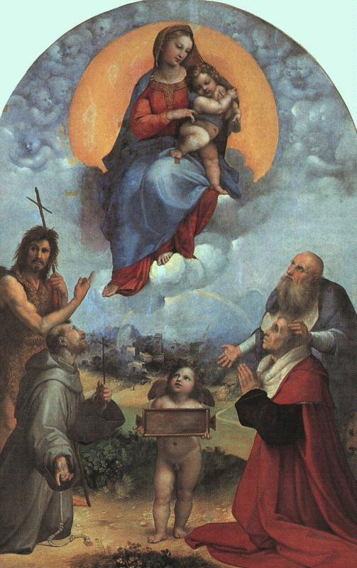 Raphael The Madonna of Foligno Germany oil painting art