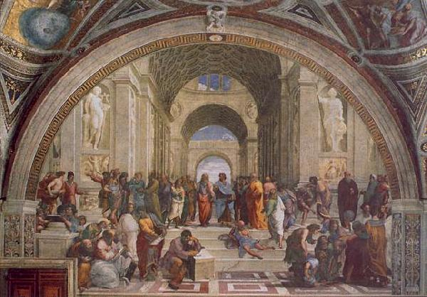 Raphael The School of Athens Germany oil painting art