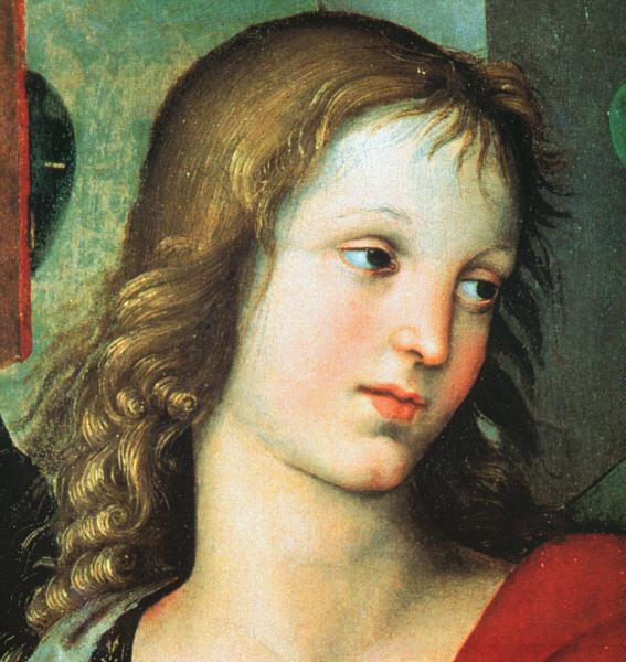 Raphael Detail from the Saint Nicholas Altarpiece Germany oil painting art