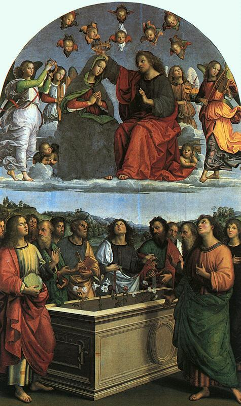 Raphael Coronation of the Virgin Germany oil painting art