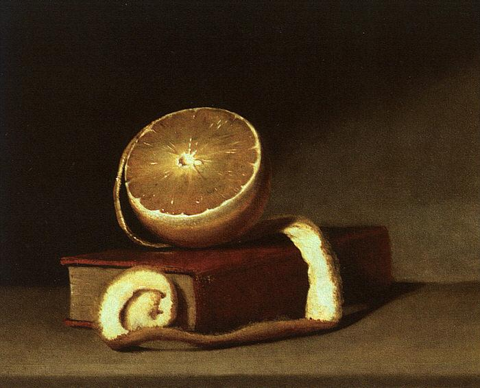 Raphaelle Peale Still Life with Orange and Book Germany oil painting art