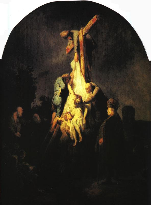 Rembrandt The Descent from the Cross Germany oil painting art