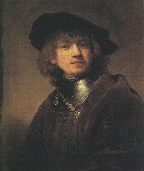Rembrandt Self Portrait as a Young Man Germany oil painting art