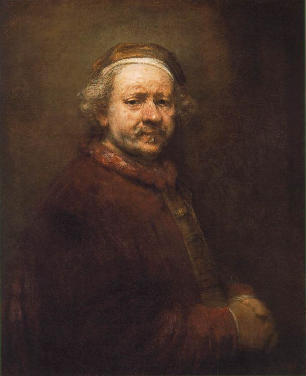Rembrandt Self Portrait  ffdxc Germany oil painting art
