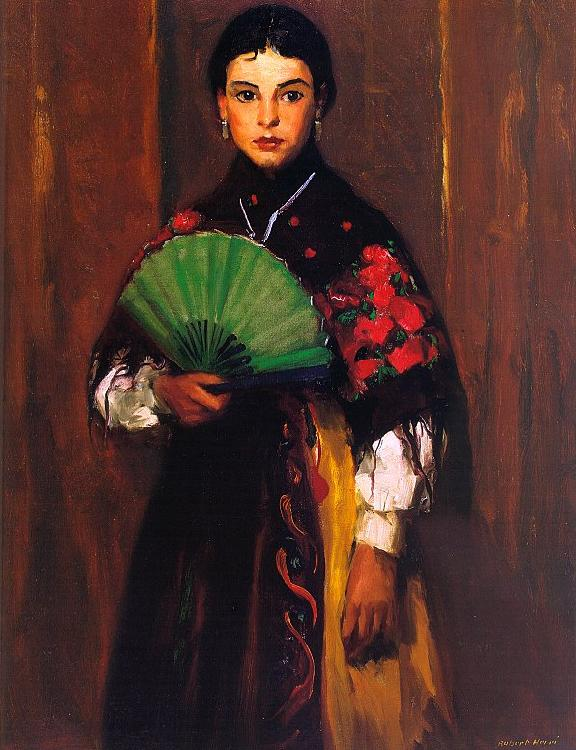 Robert Henri Spanish Girl of Segovia Germany oil painting art
