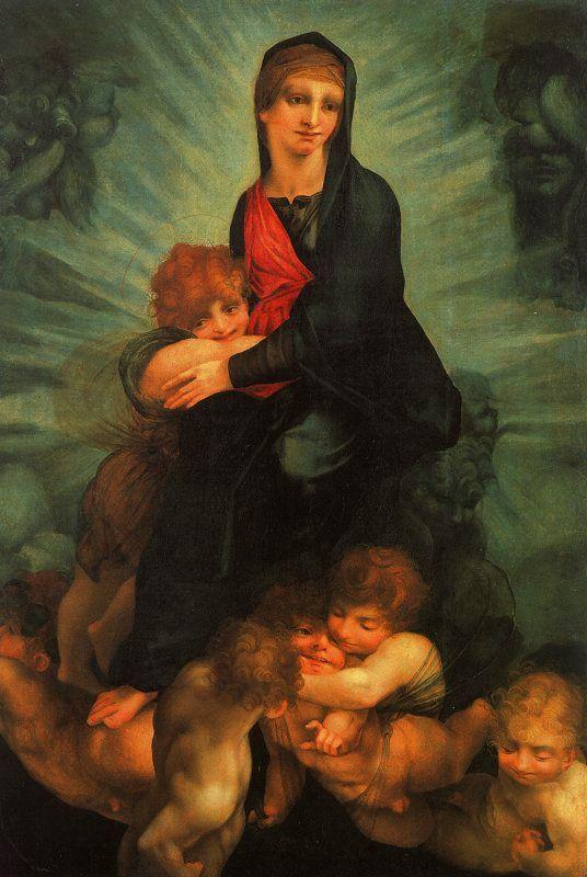 Rosso Fiorentino Madonna in Glory Germany oil painting art