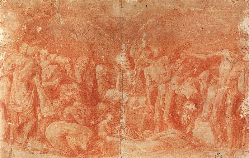 Rosso Fiorentino Macabre Allegory Germany oil painting art