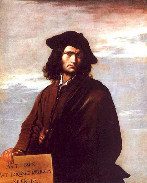 Salvator Rosa Self Portrait bbb Germany oil painting art