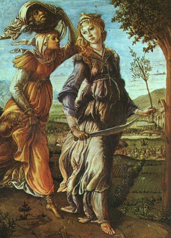 Sandro Botticelli The Return of Judith oil painting image