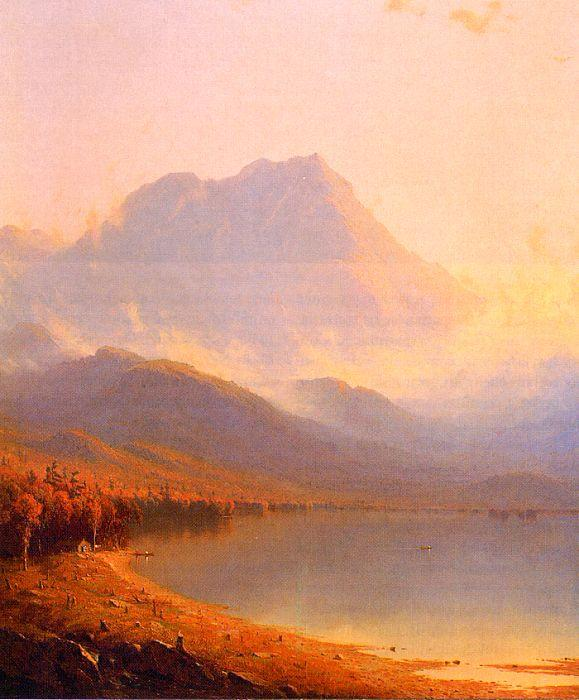 Sanford Robinson Gifford Morning in the Adirondacks Germany oil painting art